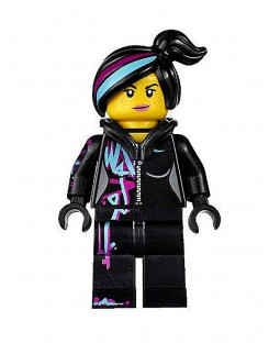 Wyldstyle with Hoodie Down - The Lego Movie