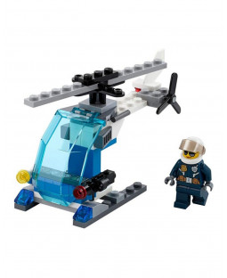 Police Helicopter Polybag - LEGO City