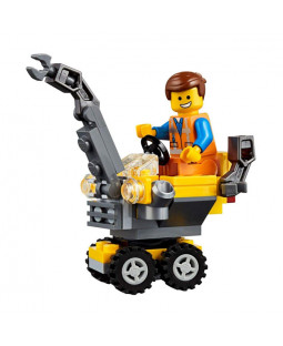Mini Master-Building Emmet Polybag - The LEGO Movie 2